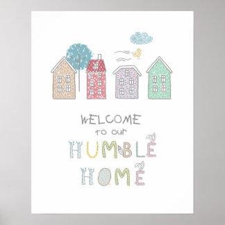 控え目な家の歓迎ID372 ポスター