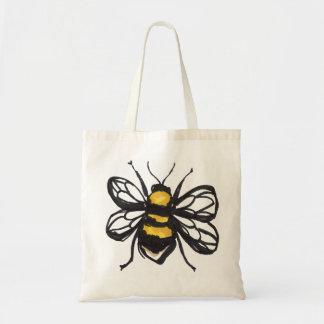 控え目な《昆虫》マルハナバチのバッグ トートバッグ