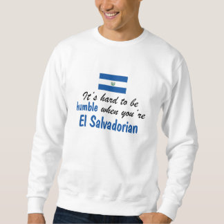 控え目なElエルサルバドル人 スウェットシャツ