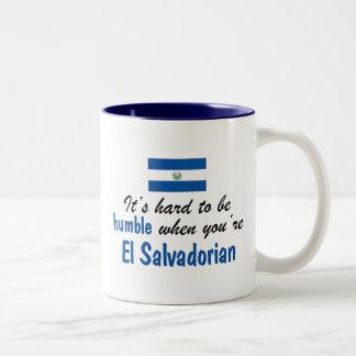 控え目なElエルサルバドル人 ツートーンマグカップ