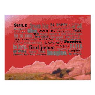推薦の芸術 ポストカード