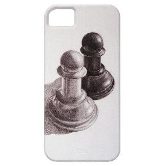 描かれる鉛筆はチェスを質に入れます iPhone SE/5/5s ケース