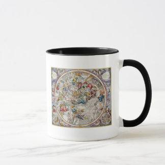 描写されるキリスト教の星座の地図 マグカップ