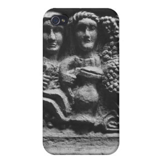 描写しているフォントとして使用される祭壇の前部 iPhone 4/4S ケース