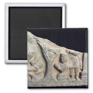 描写するつくレリーフ、浮き彫りのフリーズの詳細 マグネット