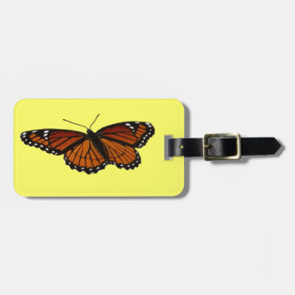 提督の蝶美しい自然の写真撮影 ラゲッジタグ