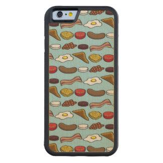 揚げられていた朝食 CarvedメープルiPhone 6バンパーケース