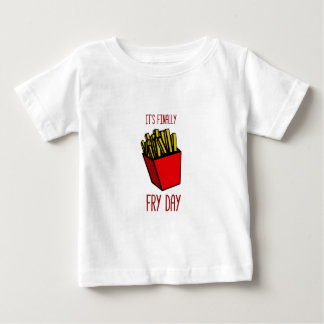 揚げ物日 ベビーTシャツ