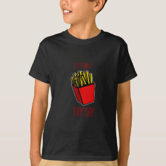 揚げ物日 Tシャツ