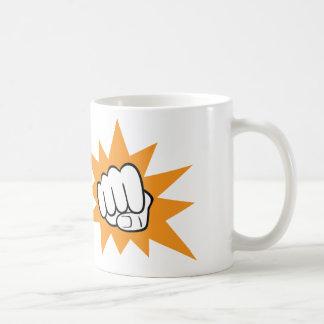 握りこぶしの隆起のマグ コーヒーマグカップ