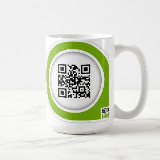援助QRのコップ コーヒーマグカップ