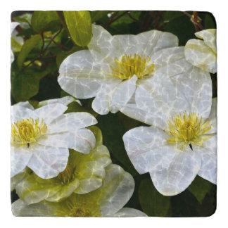 揺らめくクレマチスの花Trivet トリベット