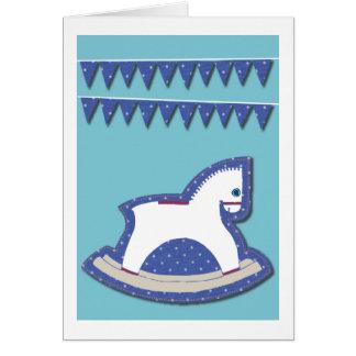 揺り木馬 カード