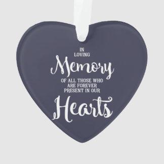 損失の愛情のある記憶物 オーナメント