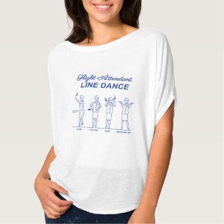 搭乗員のラインダンス Tシャツ