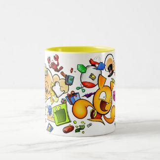 携帯用液体の容器 ツートーンマグカップ