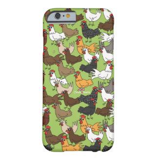 携帯電話のウォレットケース-緑 BARELY THERE iPhone 6 ケース