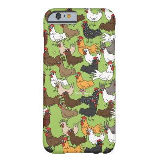 携帯電話の箱かカバー-緑 BARELY THERE iPhone 6 ケース