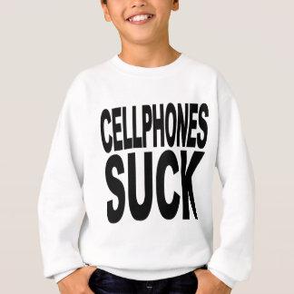 携帯電話は吸います スウェットシャツ