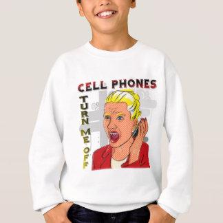 携帯電話は私をうんざりさせます スウェットシャツ