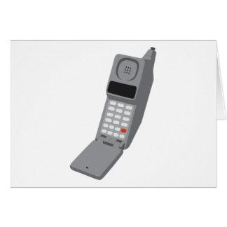 携帯電話-レトロの携帯電話のヴィンテージの電話 カード