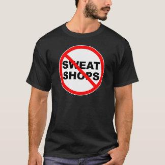 搾取工場の紋章の装身具は家へ帰ります Tシャツ