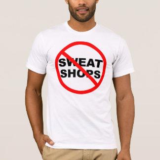 搾取工場のTシャツのフード付きスウェットシャツのスエットシャツのジャケット Tシャツ