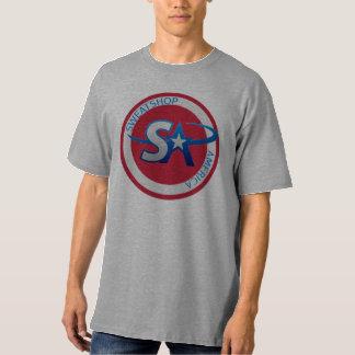 搾取工場アメリカ Tシャツ