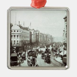 摂政の任にある通り、ロンドンc.1900 メタルオーナメント