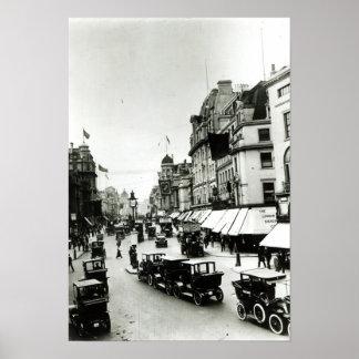 摂政の任にある通り、1910年代 ポスター