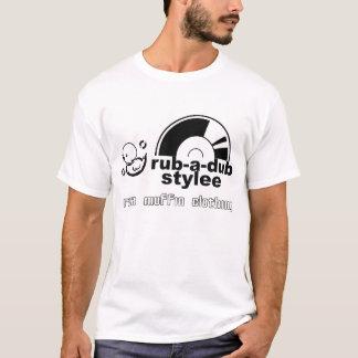 摩擦ダビングStylee (黒) Tシャツ