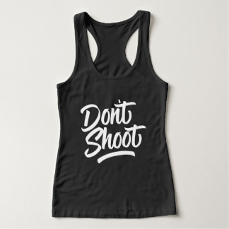 撃たないで下さい タンクトップ