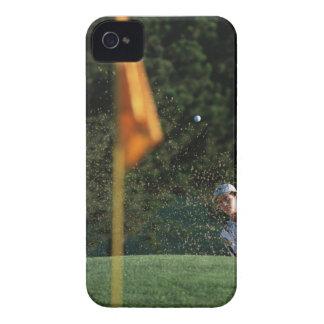撃たれる燃料庫(ゴルフ) Case-Mate iPhone 4 ケース