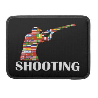 撃つこと MacBook PROスリーブ