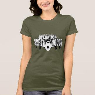 操作のNorthwoodsの女性Tシャツ Tシャツ