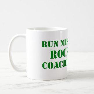 操業おたくの石のコーチのコーヒー・マグ コーヒーマグカップ