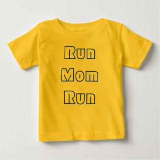 操業お母さんの操業 ベビーTシャツ