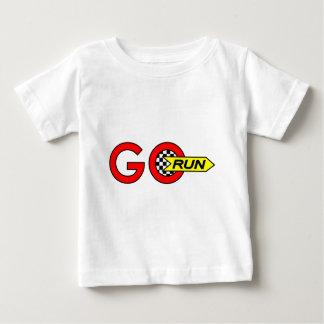 操業は行きます ベビーTシャツ