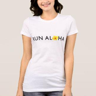 操業アロハお気に入りのなジャージーのTシャツ-薄い色 Tシャツ