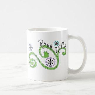 操業丘-ユニークなランナーのギフト コーヒーマグカップ
