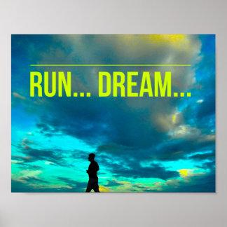 操業夢-やる気を起こさせるな連続したポスター ポスター