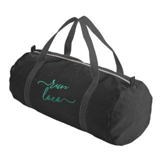 操業気違いの水の黒の体育館のバッグ ジムバッグ