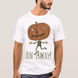 操業遠くになカボチャによって破壊されるTシャツ Tシャツ