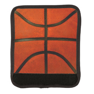 擦り切れたなオレンジバスケットボール ラゲッジ ハンドルラップ
