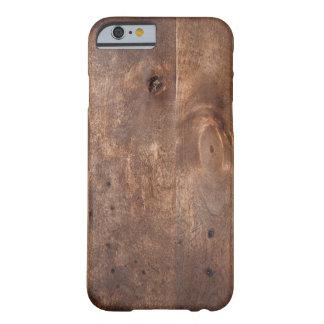 擦り切れたなマツ板 BARELY THERE iPhone 6 ケース