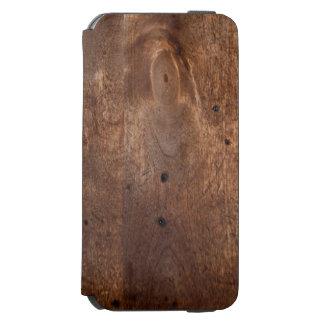 擦り切れたなマツ板 INCIPIO WATSON™ iPhone 6 ウォレットケース