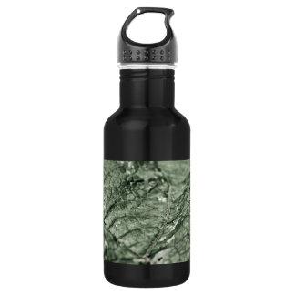 擦り切れたな緑の葉16のoz ウォーターボトル