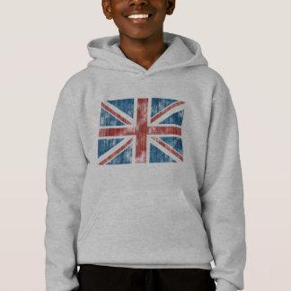 擦り切れたな英国国旗