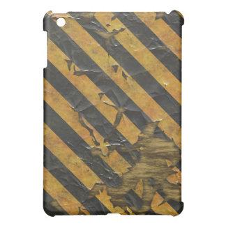擦り切れたな、衰退した薄片状のペンキの錯覚の危険のデザイン iPad MINIケース