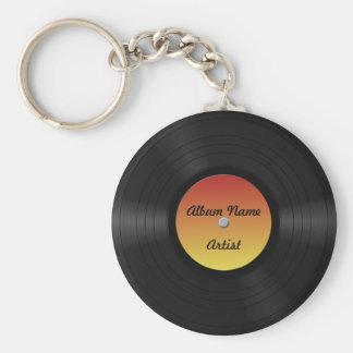 擬似カスタムなレコード キーホルダー
